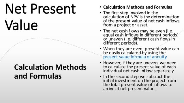 Net present Value, Internal Rate Of Return, Profitability Index, Payb…