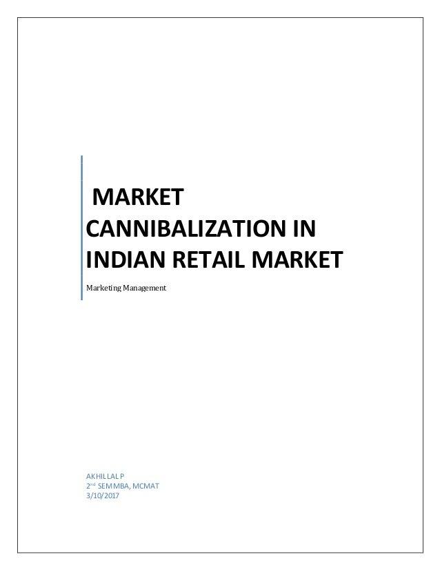 market cannibalization