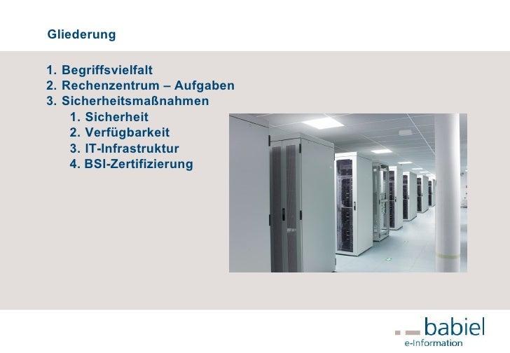 Rechenzentrum - Hosting – Providing – ISP –  Slide 2