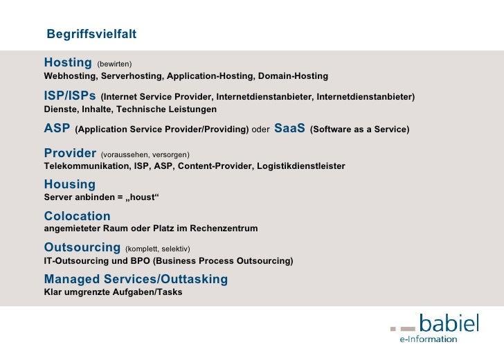 Rechenzentrum - Hosting – Providing – ISP –  Slide 3