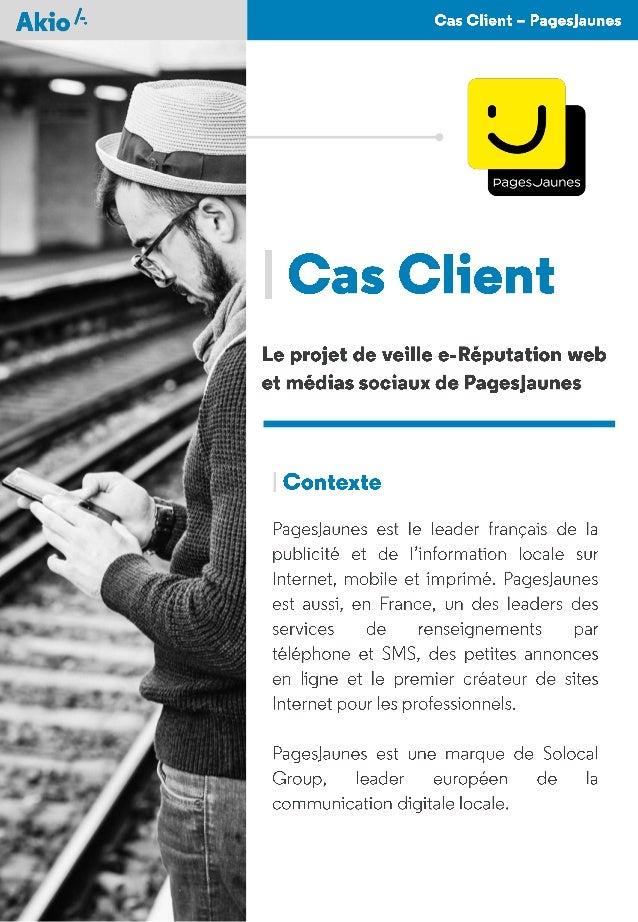 AkioSpotter - Cas Client - PagesJaunes - FR