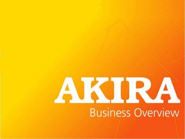 TT International Limited (3 main businesses)    Distribution              AKIRA Corp                         Retail Consum...