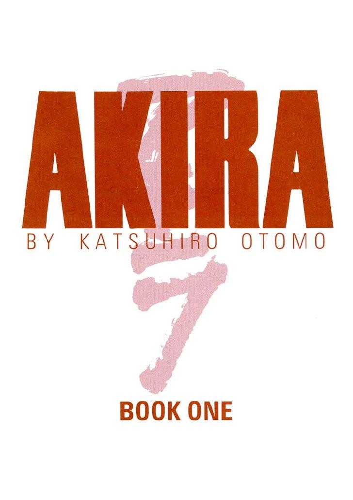 Akira vol1 part1