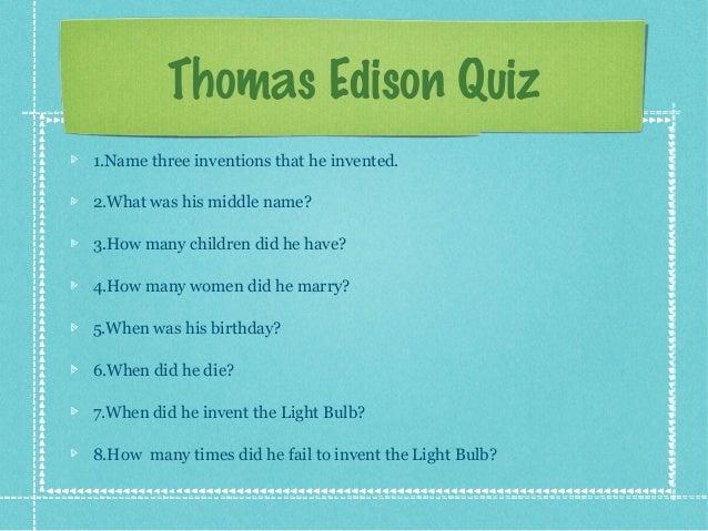 List of Edison patents - Wikipedia