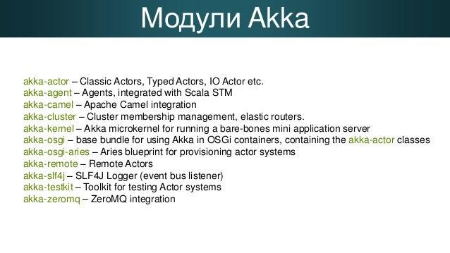 Введение в Akka Slide 3