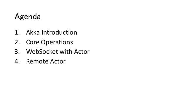 Akka Actor presentation Slide 3