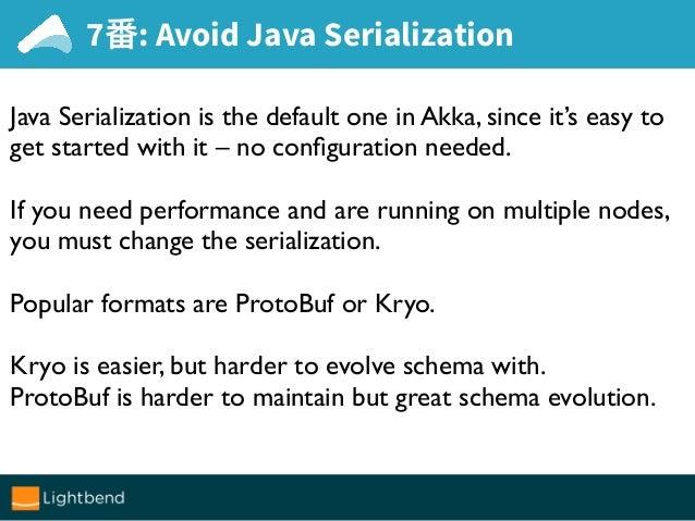 Akka Protobuf Serialization Example