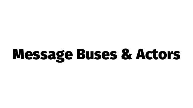 Full-Stack, Message-oriented Programming w/ Akka.NET Actors