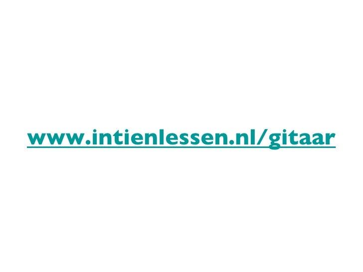 www.intienlessen.nl/gitaar