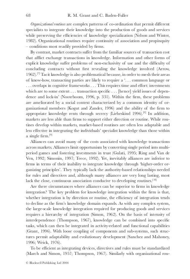 kogut and zanders theory of evolutionary Kogut and zander's theory of evolutionary theory versus internationalization theory 2173 words | 9 pages introduction there are many theories given by different group of researchers about the existence of multinational enterprises or mne's.