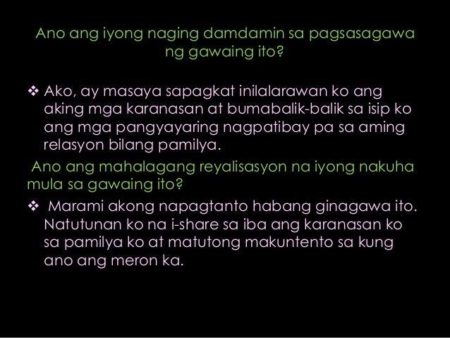 Ang akin pamilya tagalog