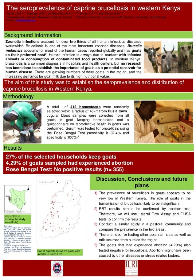 Zoonotic infections account for over two thirds of all human infectious diseasesworldwide1. Brucellosis is one of the most...