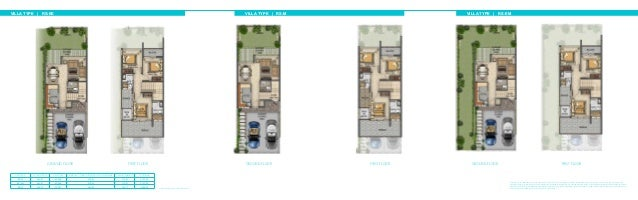 VILLA TYPE | RS-EE Unit type Ground floor First floor Balcony / terrace & external covered area Covered garage Total area ...