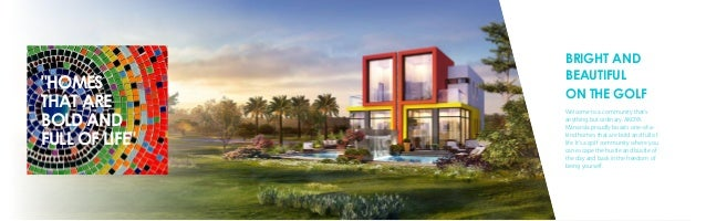 BRIGHT AND BEAUTIFUL ON THE GOLF Welcome to a community that's anything but ordinary. AKOYA Manarola proudly boasts one-of...