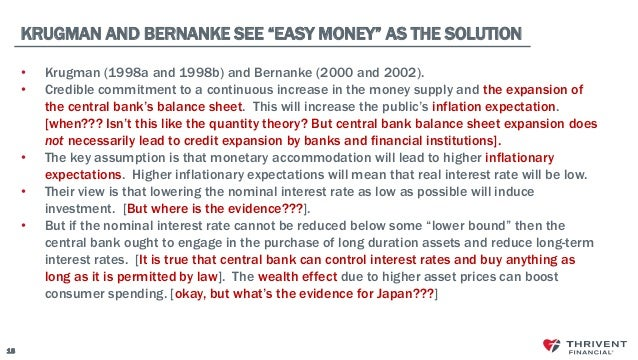 does qe necessarily lead to inflation Targeting longer-term interest rates ten-year horizon could destabilize the peg and lead investors to sell massive qe works most directly by reducing.