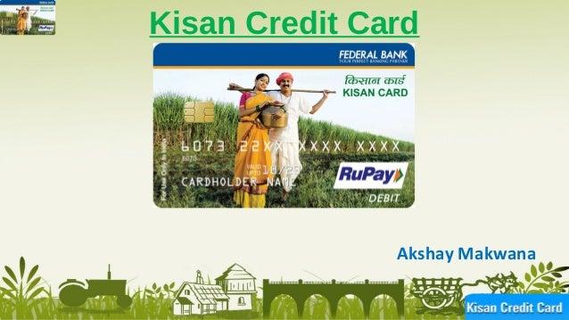 research paper on kisan credit card pdf