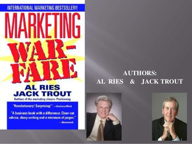 AUTHORS:  AL RIES & JACK TROUT  1
