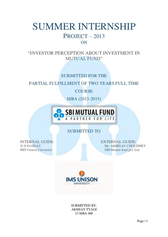 a presentation oa report on mutual A mutual fund is a pool of money managed by a professional money manager the objective and the risk level are outlined in a document called a prospectus the prospectus provides detailed guidelines for the types of investments the manager can purchase a mutual fund is also known as an open-ended investment fund.