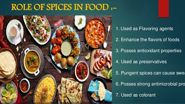 health benefits of spices pdf