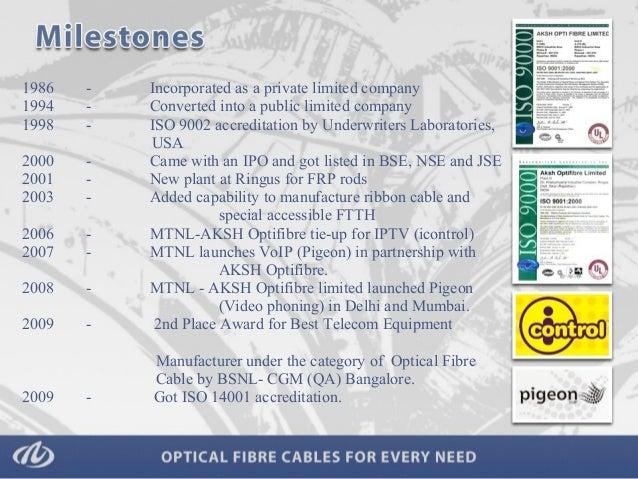 Optical Fibre By Aksh Optifibre Limited Delhi