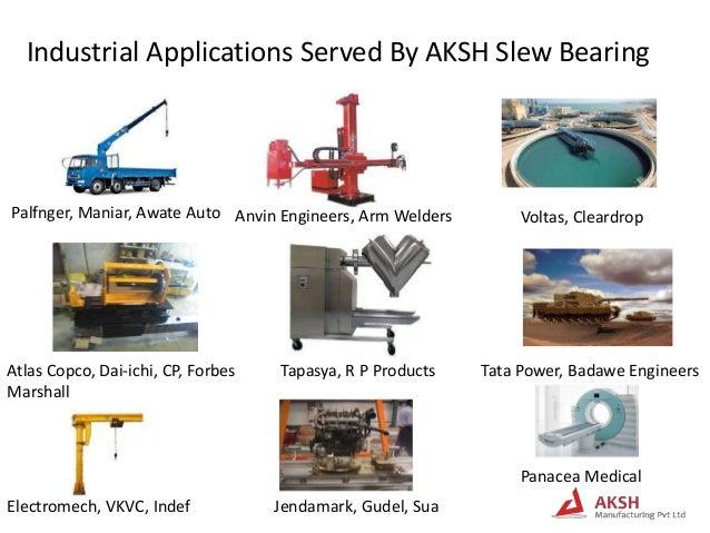 Aksh slew ring bearing presentation revised