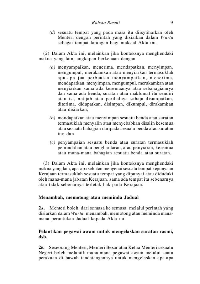 Akta 88 Akta Rahsia Rasmi 1972