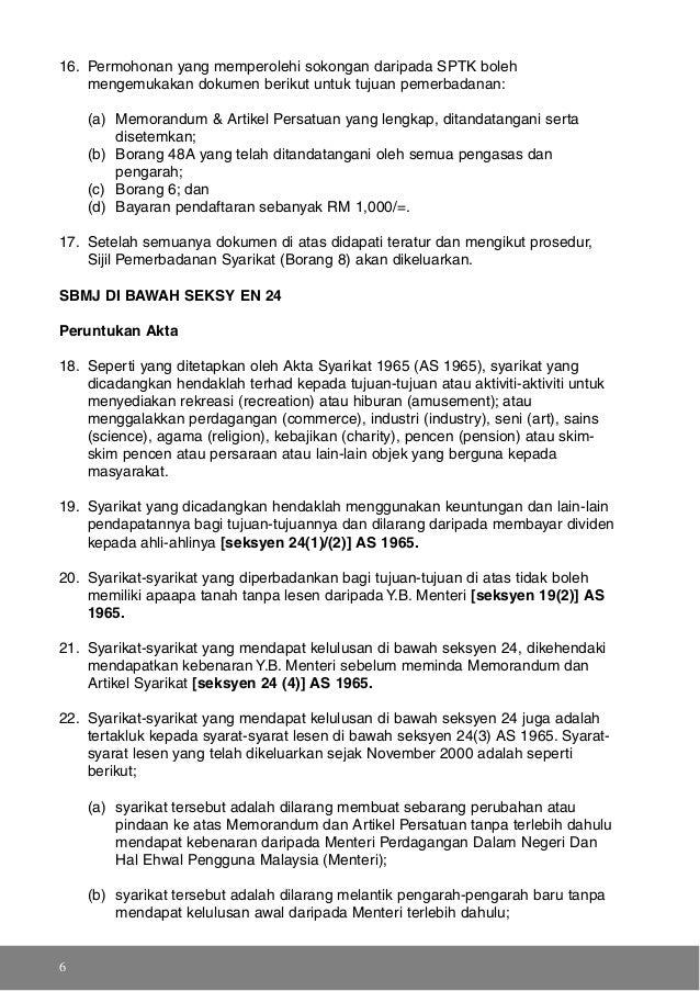 Download Free Akta Syarikat 1965 Bahasa Melayu Pdf Thebiggugu