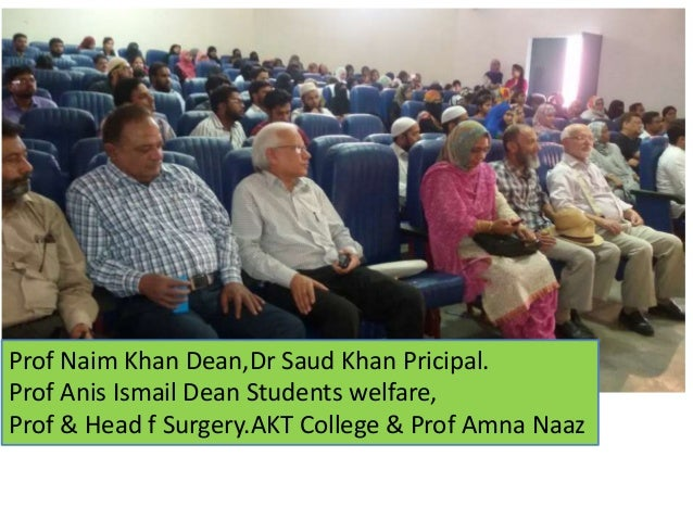 Er Iqbal M Khan,a guest of honor from London,an Engg graduate of 1971, runs Nasr Society for education,health and welfare ...