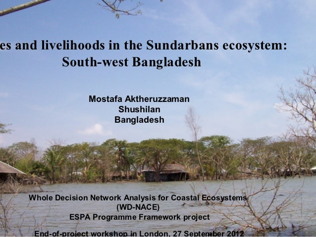 es and livelihoods in the Sundarbans ecosystem:           South-west Bangladesh                  Mostafa Aktheruzzaman    ...