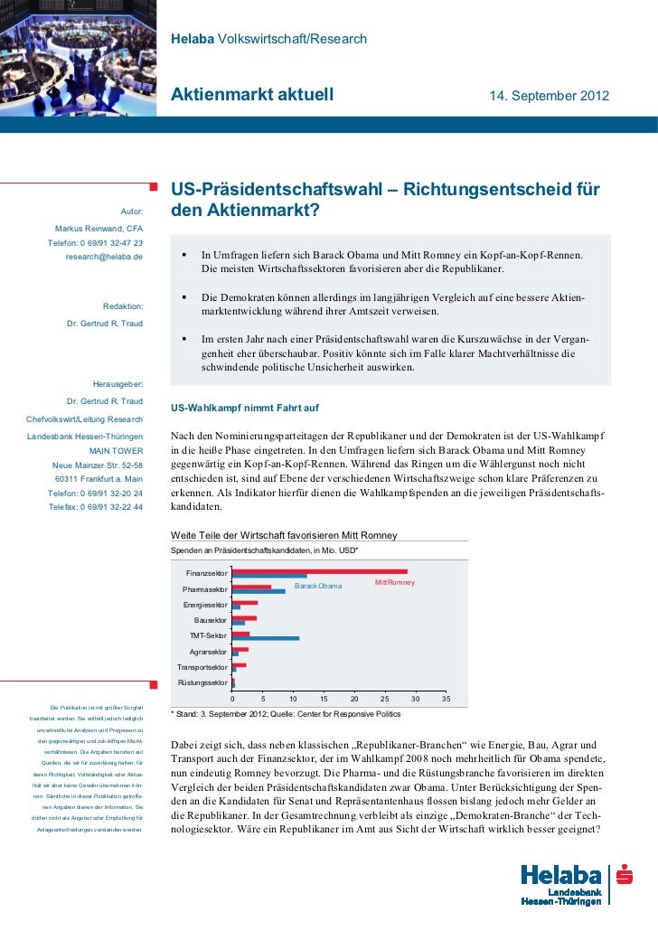 Helaba Volkswirtschaft/Research                                                   Aktienmarkt aktuell                     ...