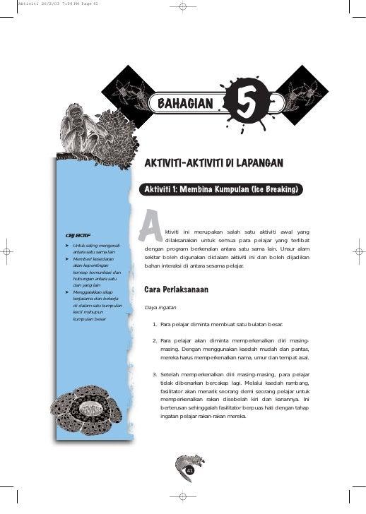 Aktiviti 26/2/03 7:04 PM Page 41                                                       BAHAGIAN                           ...