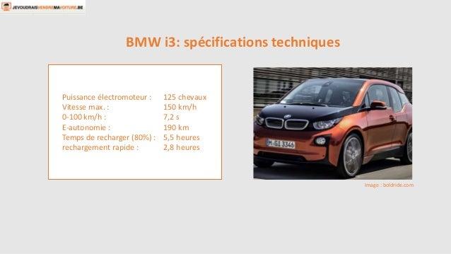 Puissance électromoteur : 125 chevaux  Vitesse max. : 150 km/h  0-100 km/h : 7,2 s  E-autonomie : 190 km  Temps de recharg...
