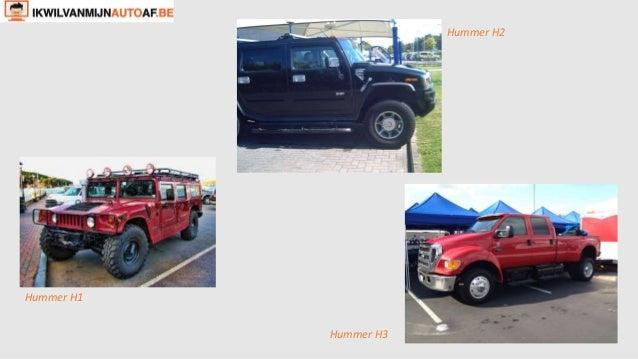 Hummer H2  Hummer H1  Hummer H3