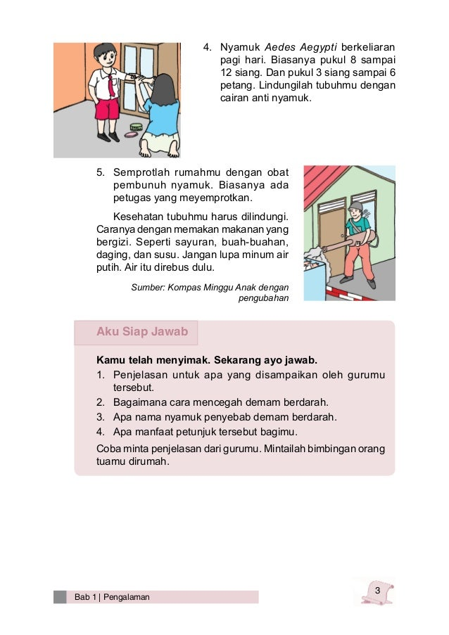 Bahasa Indonesia Kelas 3 Sd