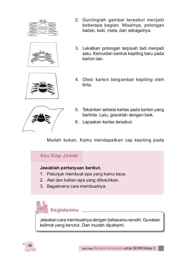 Bahasa Indonesia Kelas 3 Sd