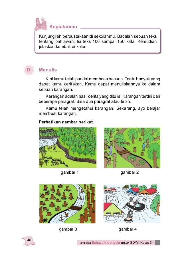 Soal Sd Bahasa Indonesia Kelas 4 Bahasa Indonesia Kelas 3