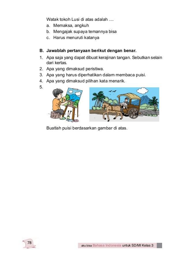 Aku bisa bahasa indonesia untuk kelas 3 - yeti nurhayati