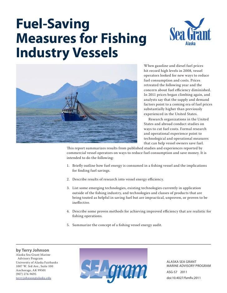 Fuel-SavingMeasures for FishingIndustry Vessels                                                                           ...