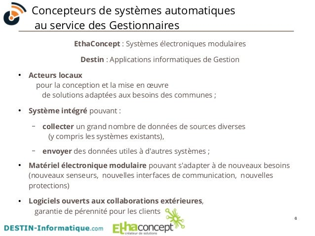 6  Concepteurs de systèmes automatiques  au service des Gestionnaires  EthaConcept : Systèmes électroniques modulaires  De...