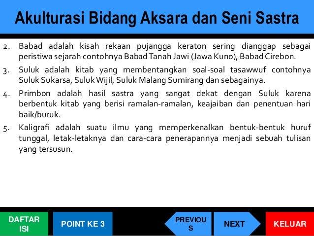 Akulturasi Budaya Islam Di Nusantara