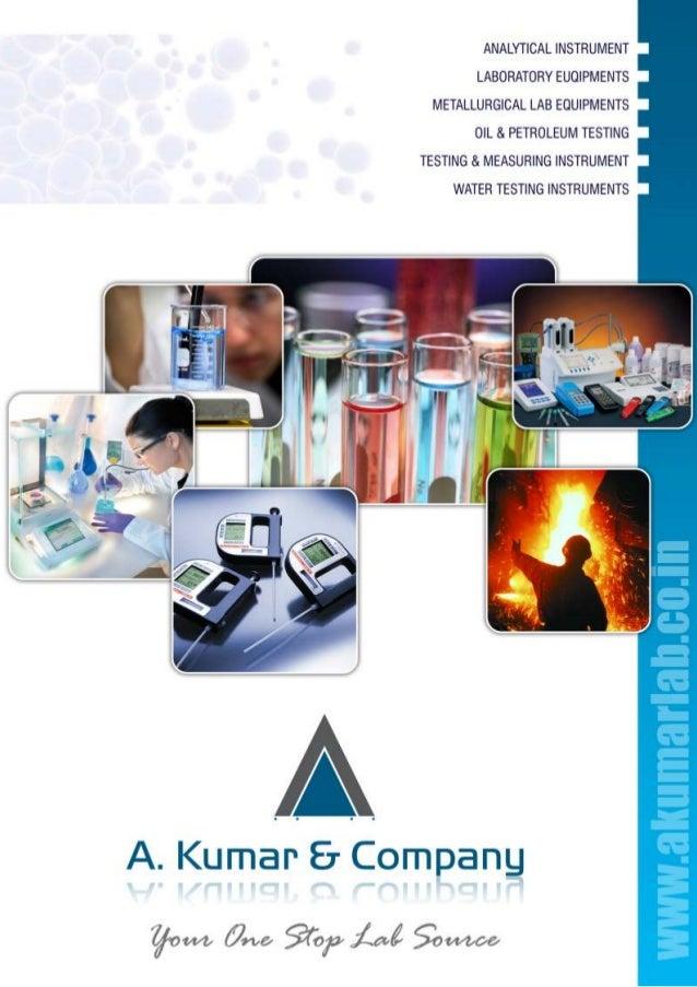 A. Kumar & Company, Mumbai, Analytical Laboratory Instruments