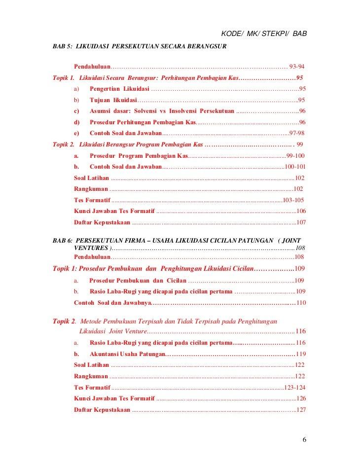 Akuntansi Keuangan Lanjutan I