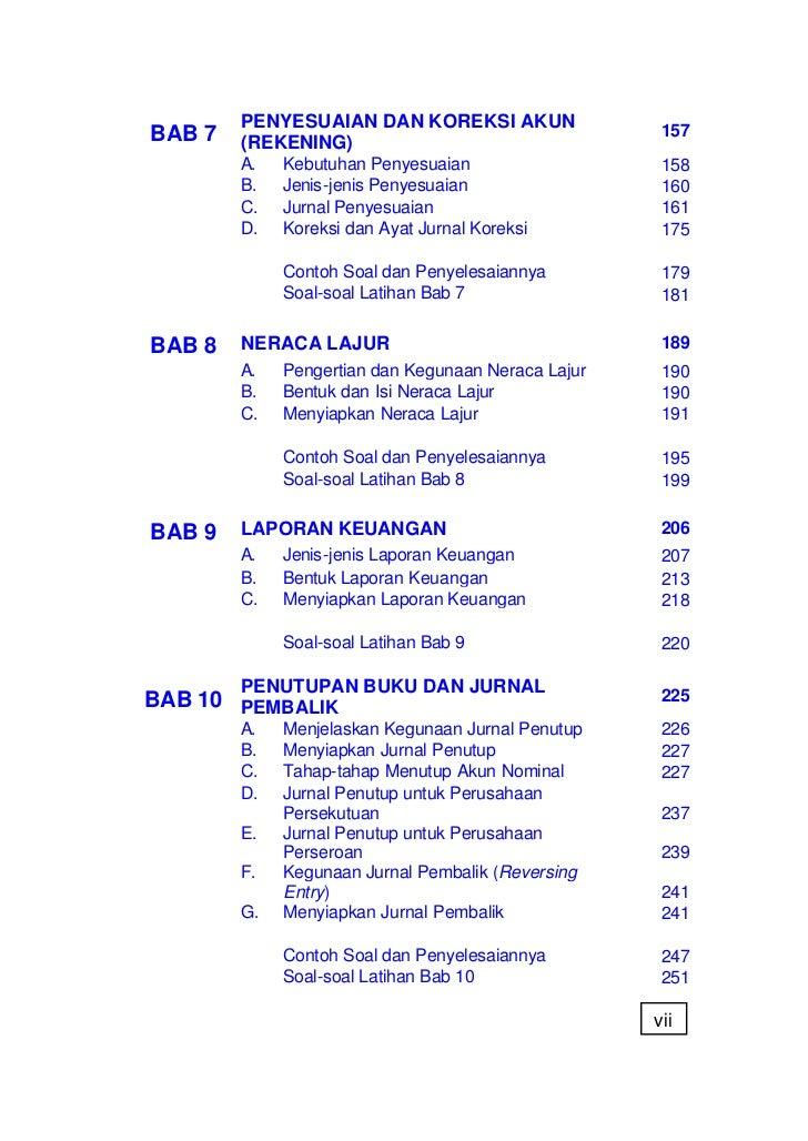 Contoh Latihan Soal Akuntansi Jurnal Umum Contoh Sur