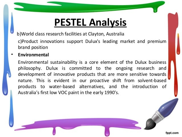 pestel analysis of dulux paint Demographic definition, of or relating to demography, the science of vital and social statistics see more.
