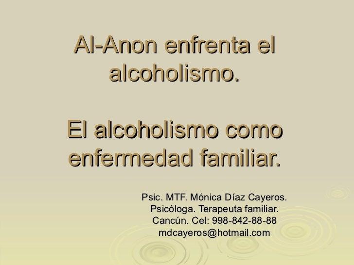 La codificación del alcoholismo la consulta