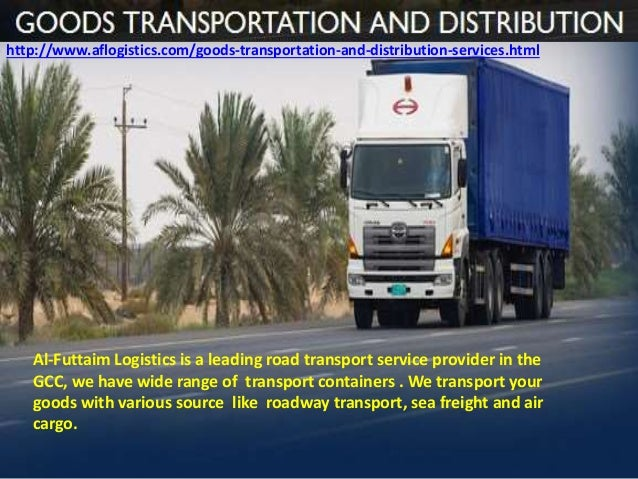 Al-Futtaim Logistics - The World Class Supply Chain Solutions