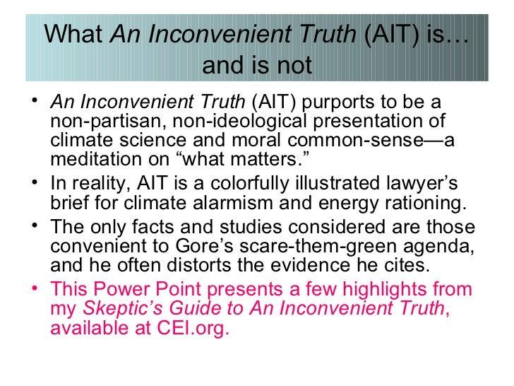 an inconvenient truth summary
