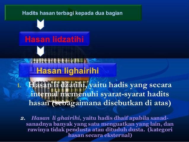 Al Hadits Shahih Ulumul Hadits
