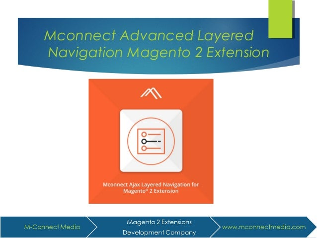 Mconnect Advanced Layered Navigation Magento 2 Extension