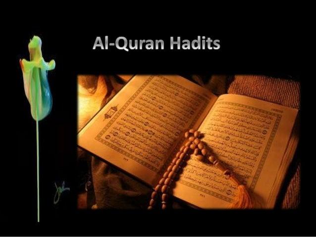 Citaten Quran Hadits : Al quran hadits